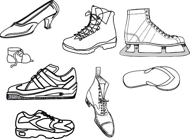 různé boty
