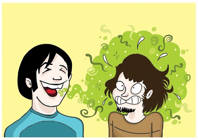 zápach z úst